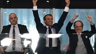 BLEUS : Le geste classe de Macron envers deux absents de la liste de Deschamps