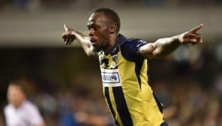 'Better Touch Than Lukaku': Twitter Reacts as Usain Bolt Scores Twice in Football Debut