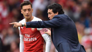 Unai Emery Urges Arsenal's Mesut Ozil to Step Up Defensively Ahead of Chelsea Clash