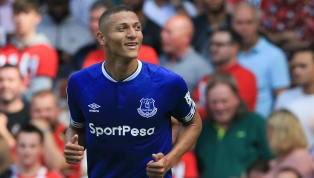 Everton's Richarlison Expresses Delight at Playing With 'Idol' Neymar Following Brazil Debut