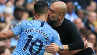 Man City Boss Guardiola Praises 'Perfect' Agüero Following Side's 6-1 Drubbing of Huddersfield Town