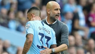 Pep Guardiola Praises Under-Fire Gabriel Jesus After Brazilian's Poor Start to the Season