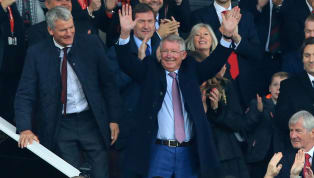 VIDEO: Sir Alex Ferguson Receives Rousing Reception From Old Trafford Faithful After Having Surgery