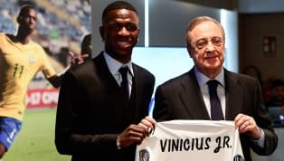 Real Madrid President Florentino Perez Lauds Vinicius and Odriozola; Talks About New Transfer Policy