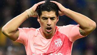 La pésima racha de Luis Suárez en Champions League