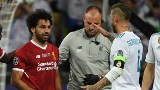 So kurios reagiert Sergio Ramos auf die Szenen mit Mo Salah und Loris Karius