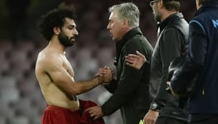 PHOTO: Salah Surprises Liverpool Fans With Unusual Gesture to Ancelotti During Napoli Defeat
