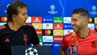 Real Madrid Skipper Sergio Ramos Backs Under-Fire Coach Julen Lopetegui Following Levante Defeat