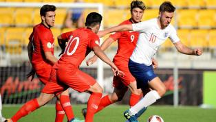 U-19 Milli Takımımız, 5 Gole Sahne Olan Maçta İngiltere'ye 3-2 Mağlup Oldu