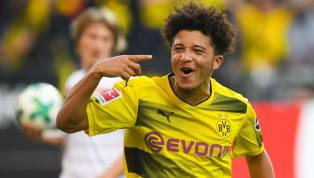 Dortmund Wonderkid Jadon Sancho Named Bundesliga Player of the Month for October