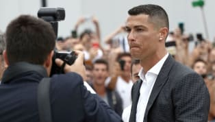 VIDEO: Cristiano Ronaldo Mobbed by Juventus Fans After Arriving for Club Medical