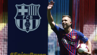 'Best in the World': Barcelona New Boy Arthur Excited By Opportunity to Play Alongside Lionel Messi
