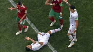 VIDÉO : La simulation grotesque de Pepe contre le Maroc
