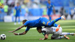 AS IT HAPPENED: Brazil 2-0 Costa Rica - World Cup Group E