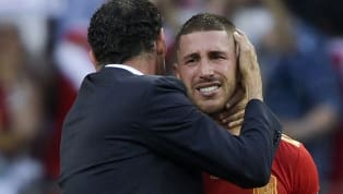 Spain Manager Luis Enrique Insists he has no Problem With Skipper Sergio Ramos