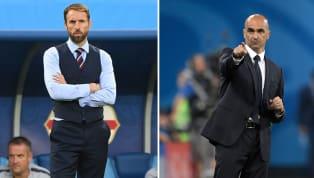 Belgien - England   Die offiziellen Aufstellungen