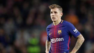 Barcelona 'Willing' to Let Lucas Digne Leave for Good Offer After Defender Requests Camp Nou Exit