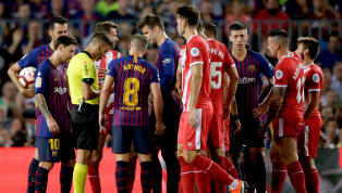 Girona Player Admits Clement Lenglet Red Card Was the Wrong Decision in Barcelona Draw