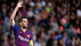 Barcelona Ace Sergio Busquets Hands Signed Shirt to Betis Boss Following Humbling 4-3 Defeat