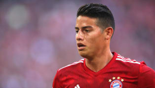 James Rodriguez Explains Five-Finger Gesture to Benfica Fans in Bayern Munich Win
