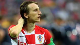 Ein enttäuschter Luka Modric wird zum besten Spieler der WM gewählt