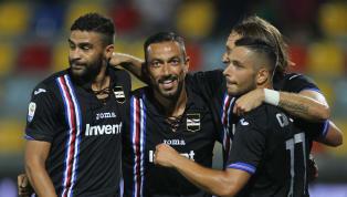 Samp a valanga sul Frosinone: 0-5, a segno tutti gli attaccanti, Defrel ne fa due