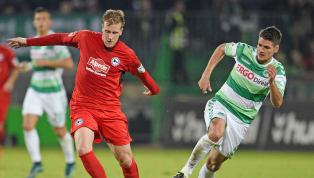 Arminia Bielefeld - SpVgg Greuther Fürth | Die offiziellen Aufstellungen