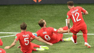 VIDEO: Harry Kane Reacts to Insane Fan Celebrations on Social Media After England's Win