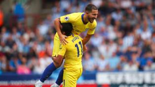 Huddersfield Player Caught Admiring Eden Hazard as Belgian Dazzles on Opening Weekend
