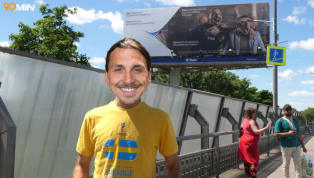 VIDEO: Zlatan Ibrahimovic Finally Reaches Russia to Support Sweden
