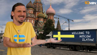 'Zlatan' Takes in the Sights During His World Cup Trip to Russia