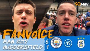 Man City 6-1 Huddersfield | Sergio Aguero Scores Hat-Trick as Citizens Destroy Terriers | FanVoice