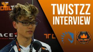 Twistzz Says Team Liquid Will Beat Astralis | DBLTAP Exclusive Interview
