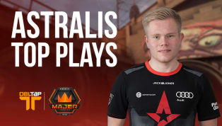 Best of Astralis at the FACEIT London Major | DBLTAP Highlights