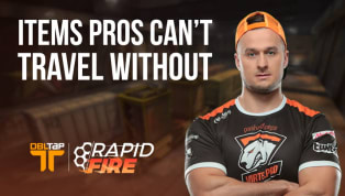 CS:GO Pros on the Items They Can't Travel Without | DBLTAP Rapid Fire