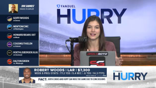 Robert Woods' Volume Makes for Intriguing Week 6 Potential