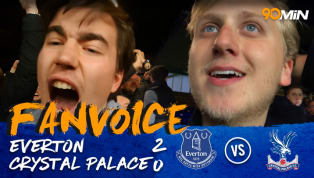 Two Late Goals Bag Everton the Win | Everton 2-0 Crystal Palace | 90min Fanvoice