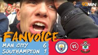 Man City 6-1 Southampton | Sterling Leads Citizens' Rout of Saints | FanVoice