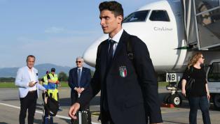 Endlich angekommen: Mattia Caldara offiziell bei Juve vorgestellt