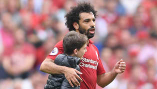Liverpool Fans Loved How Mohamed Salah Reacted to Young Pitch Invader in West Ham Win