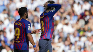 'Do not F*** With me' - Luis Suarez Spotted Arguing With Gerard Pique After Barcelona's Defeat