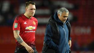 Man Utd Boss Jose Mourinho Cruelly Slates Phil Jones After Carabao Cup Penalty Shootout Miss