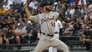 Tigers Pitcher Mike Fiers Says JD Martinez is Afraid to Face Him