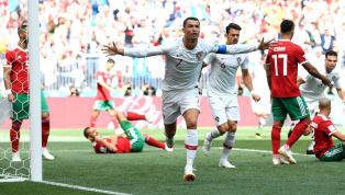 Portugal 1-0 Morocco: Cristiano Ronaldo Strikes Again to Sink Morocco & Spare Portugal's Blushes