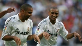 Los jugadores brasileños con más de 100 partidos en Liga con el Real Madrid