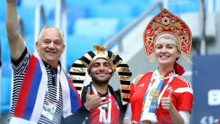 [รายงานสด] ฟุตบอลโลก 2018 กลุ่มเอ : รัสเซีย ปะทะ อียิปต์