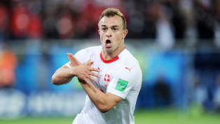 'Pure Emotion': Switzerland Star Xherdan Shaqiri Defends Controversial Goal Celebration
