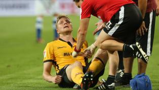 Muskelfaserriss: Dynamo-Kapitän Marco Hartmann fällt aus