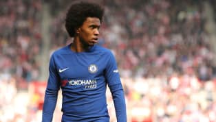 Barcelona Submit Third Bid of Over £55m for Chelsea's Willian as Man Utd Enter Bidding War