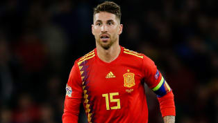 Sergio Ramos Tweets Video in Response to 'Stamp' Claims on England's Raheem Sterling